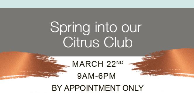 spring into citrus club