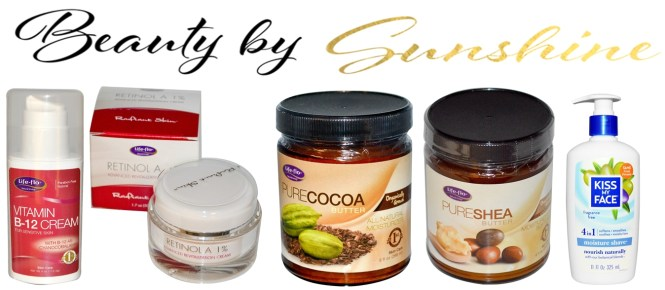 Iherb-produse-preferate-Life-Flo-Cacao-Butter-Kiss-my-Face-Retinol-skin-care-beautybysunshinecom