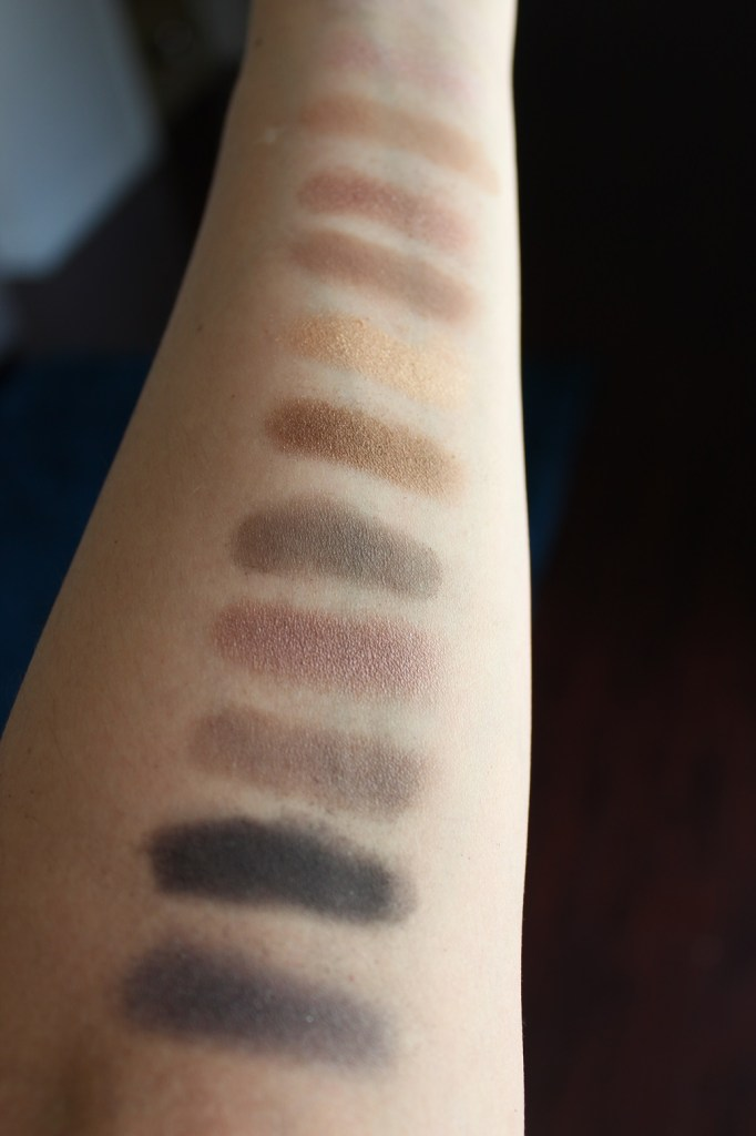 Naked Color Swatches - Beauty Chaos