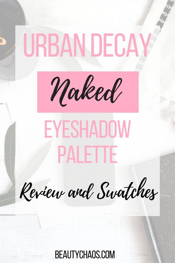 Urban Decay Naked Eyeshadow Palette Pin
