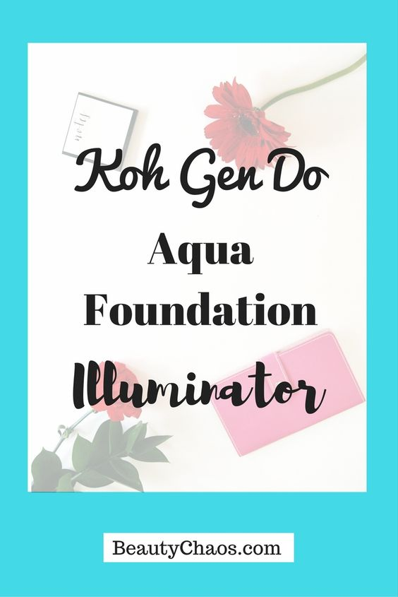 Koh Gen Do Aqua Foundation Illuminator Pin