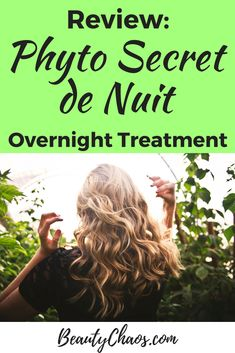 Phyto Secret De Nuit Review Pin