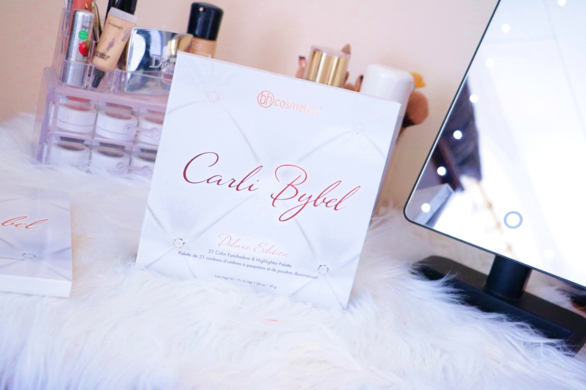 BH Cosmetics Carli Bybel Deluxe Edition Palette Review + Swatches