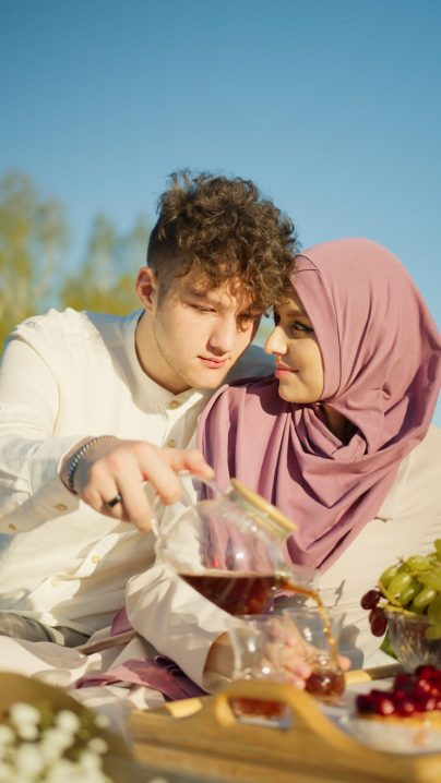 Photo by Artem Podrez from Pexels Dating Muslim Couple