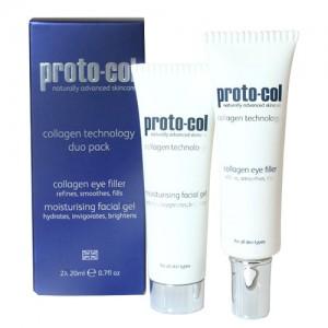 proto-col-collagen-duopackPack Contorno de ojos Gel Hidratante proto-col