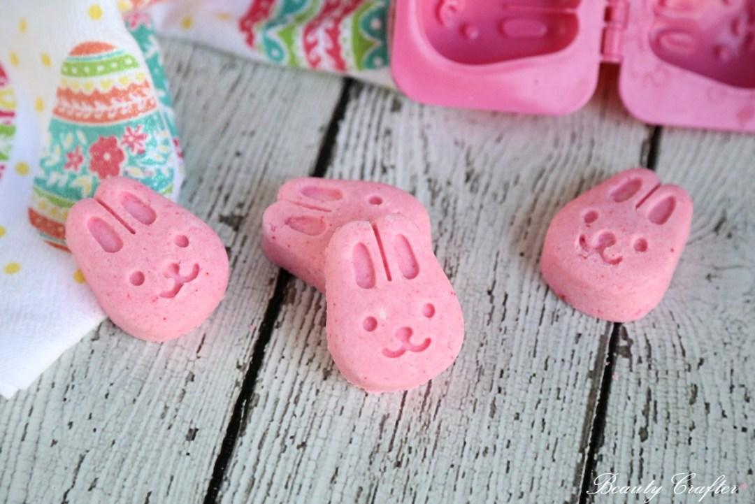 Easter Bath Bombs - bunny