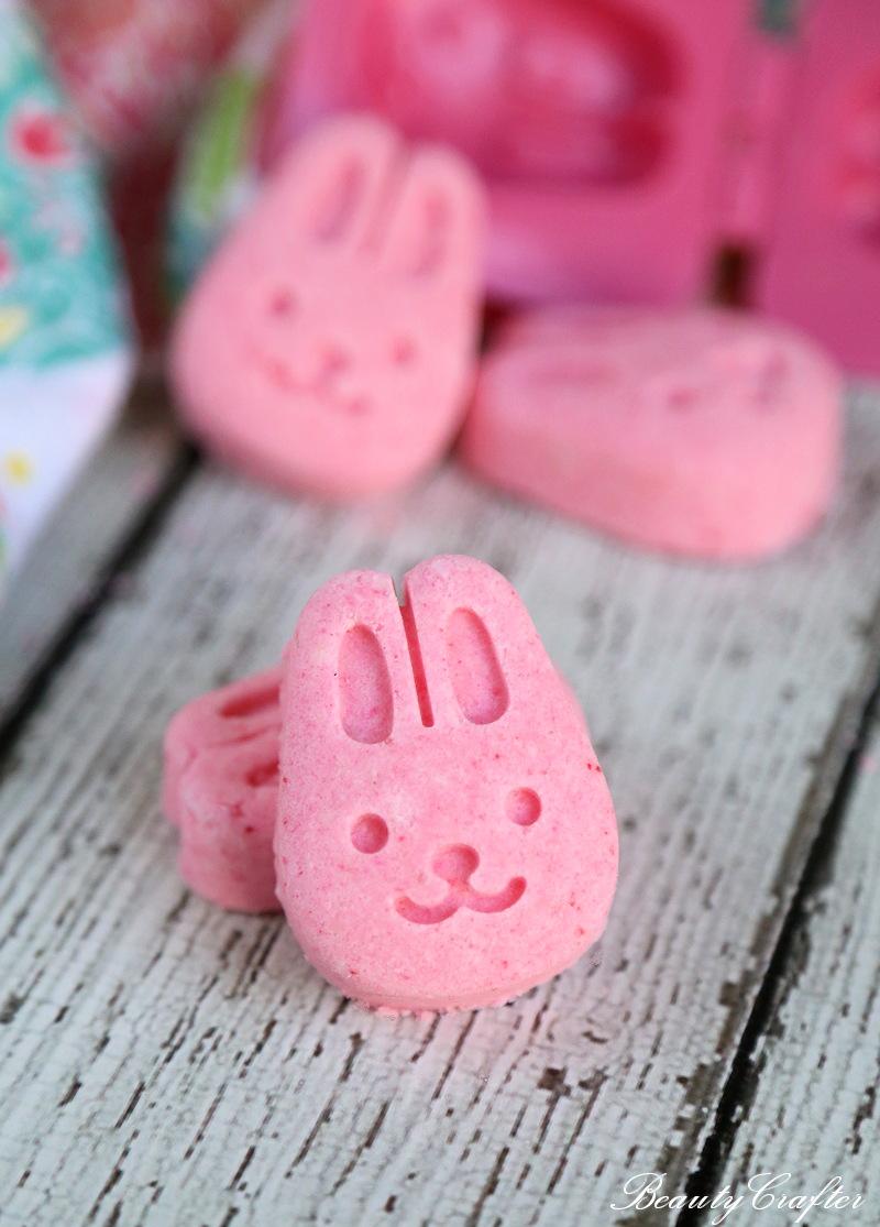 Easter Bath Bombs - pink bunny