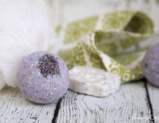 Lavender Oatmeal Bath Bombs Recipe