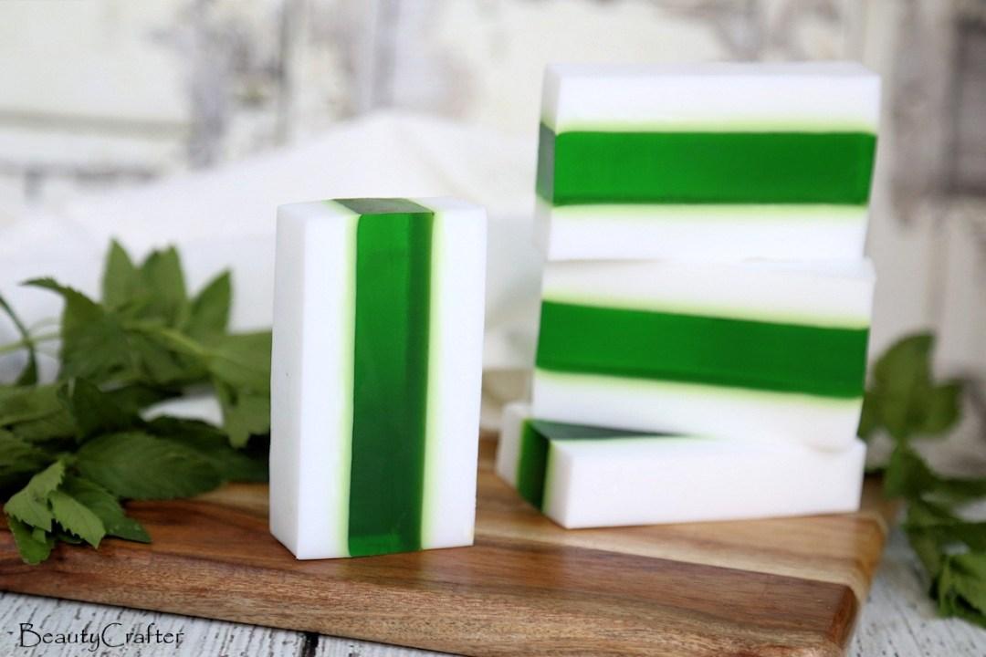 Creamy Vanilla Mint Soap Recipe