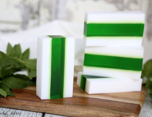 Creamy Vanilla Mint Soap Recipe