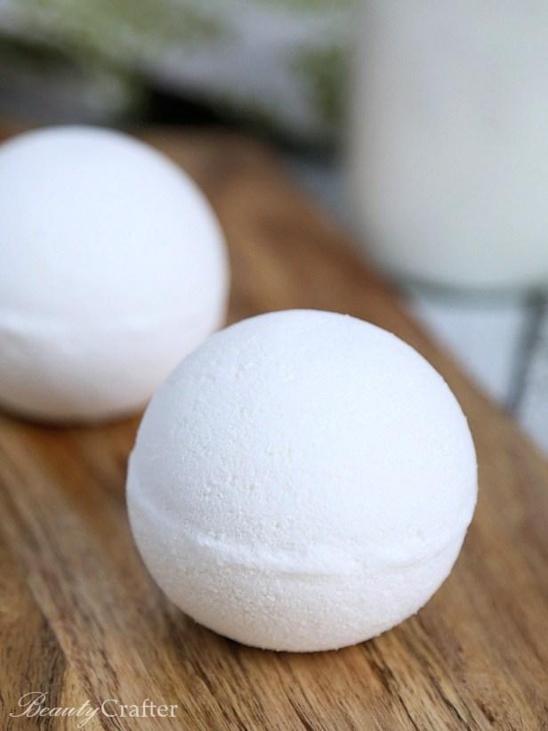 Milk Bath Bombs