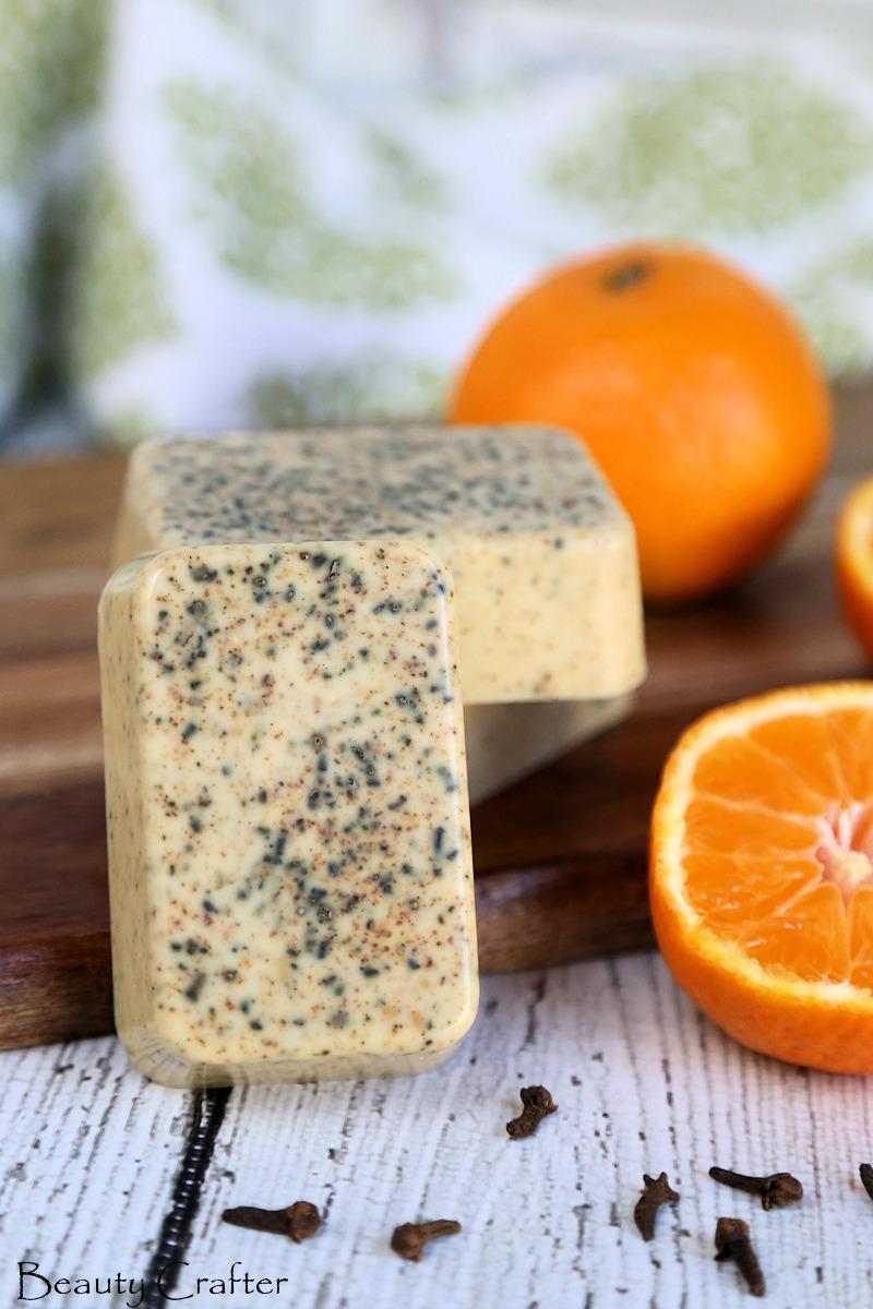 orange clove soap recipe