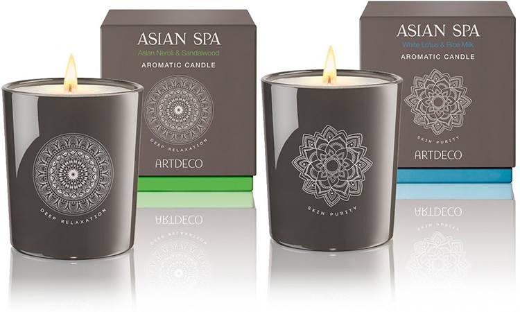 Ароматические свечи для дома - Artdeco Spa & Body Specials