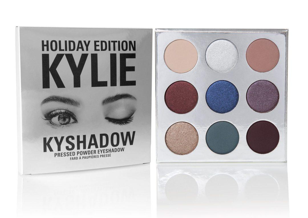 Kylie Jenner - Новогодняя коллекция 2016 - Палетка теней для глаз - HOLIDAY PALETTE | KYSHADOW