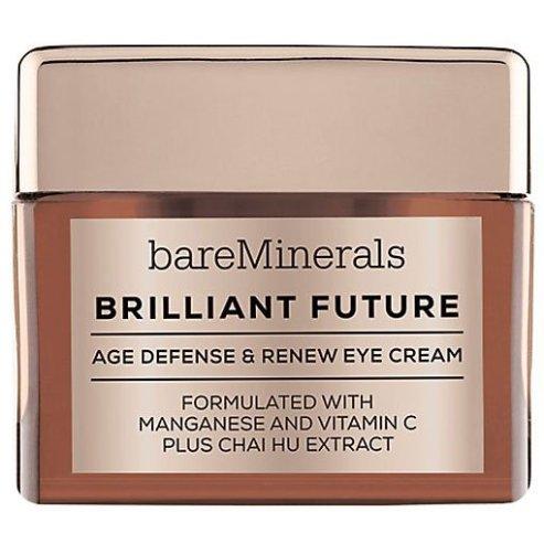 Антивозрастной крем для области вокруг глаз - bareMinerals Brilliant Future Age Defense & Renew Eye Cream