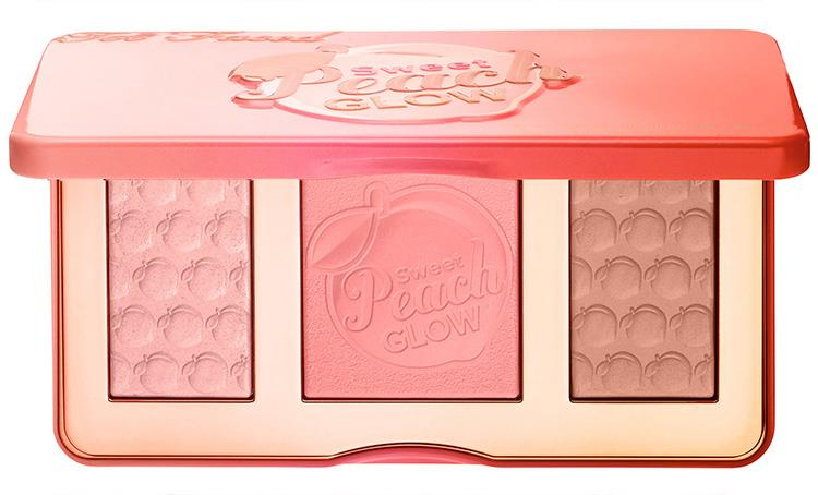 Палетка хайлайтеров - Too Faced Sweet Peach Glow Peach-Infused Highlighting Palette