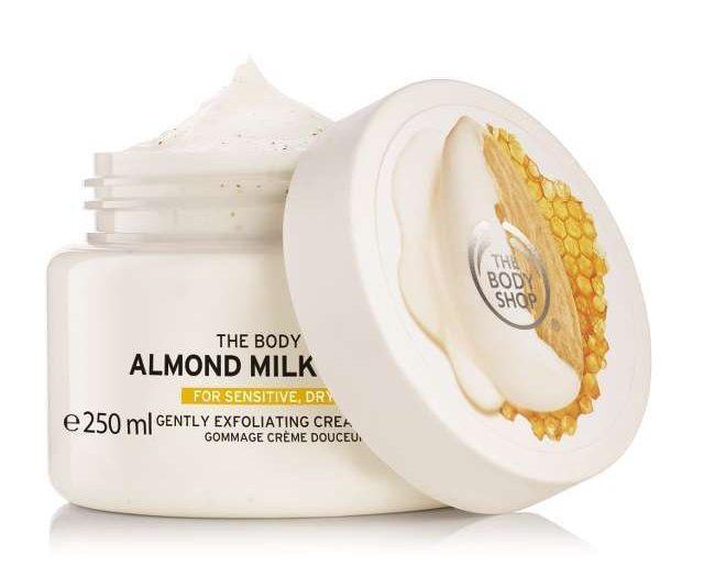 The Body Shop - Almond Milk & Honey  КРЕМОВЫЙ СКРАБ ДЛЯ ТЕЛА