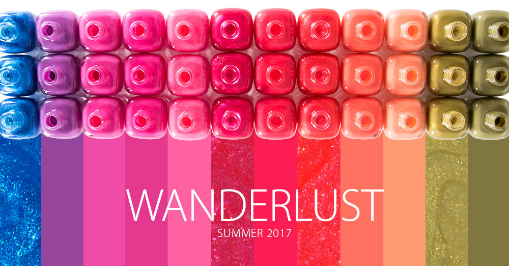 Zoya - Wanderlust Collection лето 2017