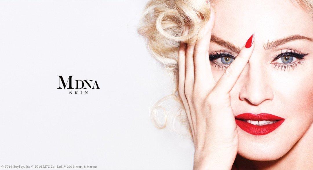 MDNA Skin коллекция косметики от Мадонны