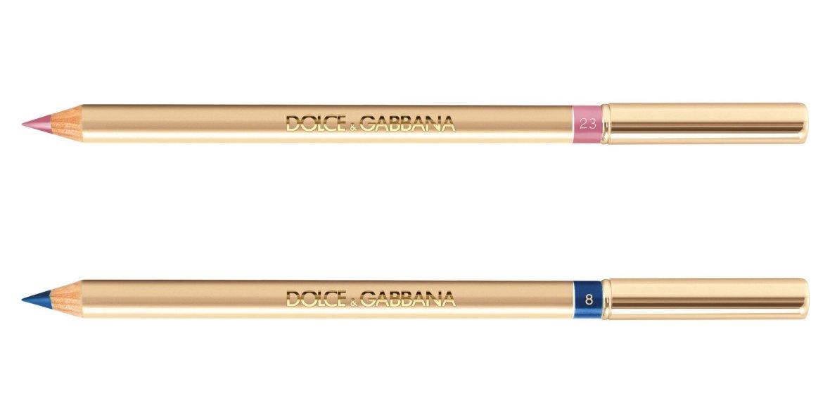 Карандаш для глаз - Dolce & Gabbana The Eyeliner Crayon 8 Blue 23 Pink Pop