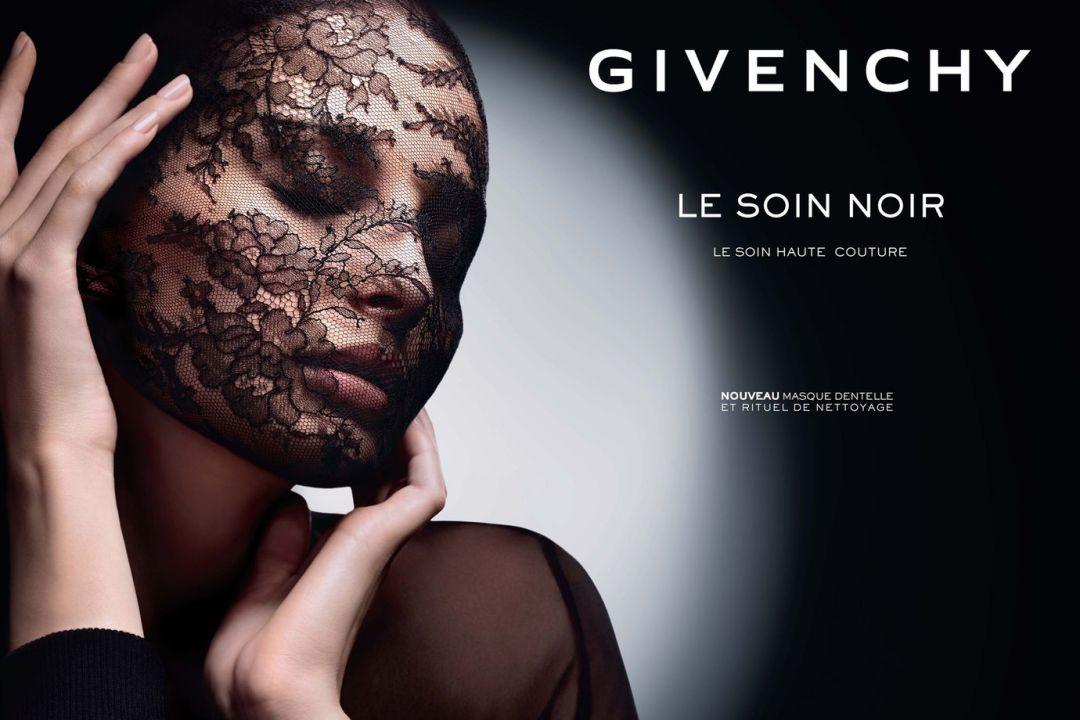 Givenchy - Le Soin Noir et Blanc Mask черная маска