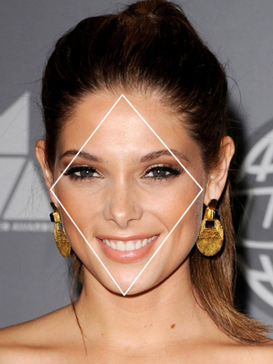 Long Hairstyles For Diamond Shaped Faces Page 1