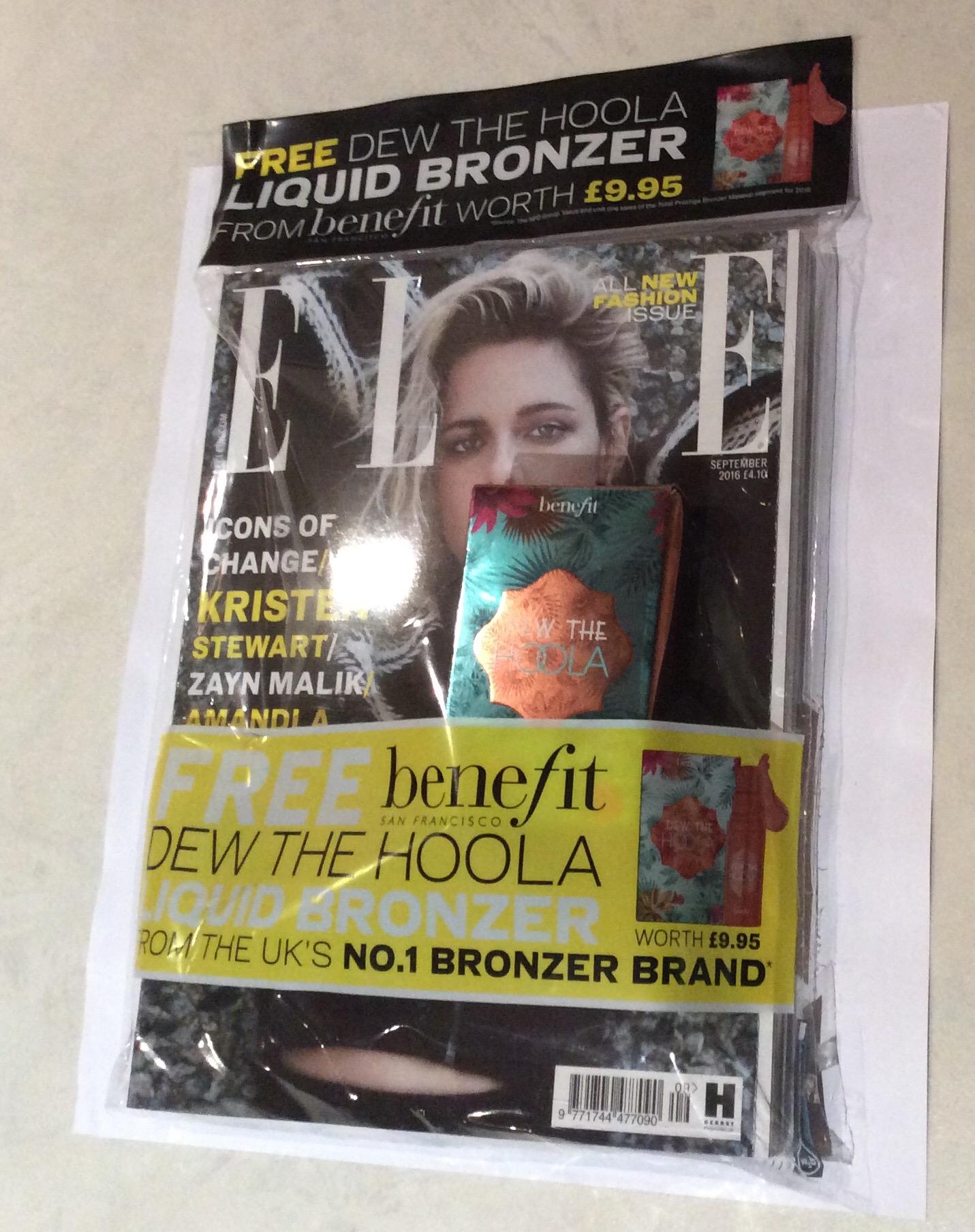 freebies in magazines september