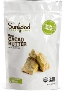cocoa butter sunfood