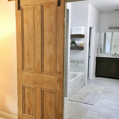 DIY Barn Door Installation