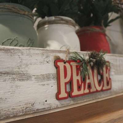 Create Farmhouse Christmas Decor with Dollar Tree Supplies
