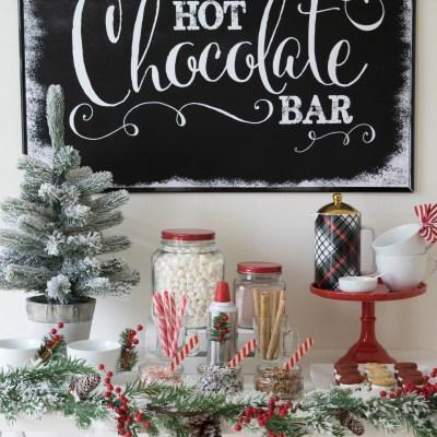 How to Set Up a Hot Chocolate Bar