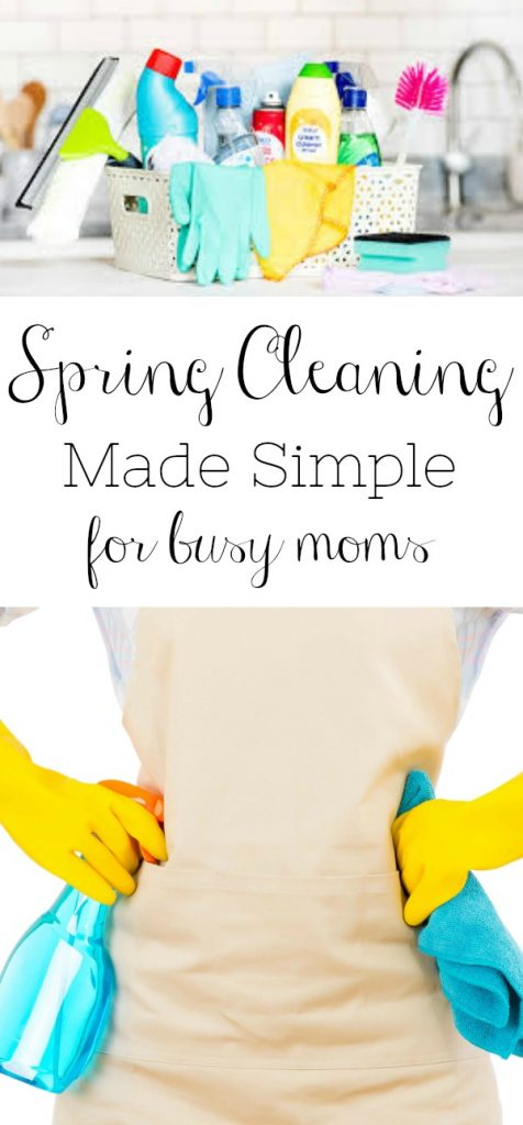 Learn how spring cleaning can be made simple for busy moms. Includes a free downloadable comprehensive checklist to help you stay on track.
