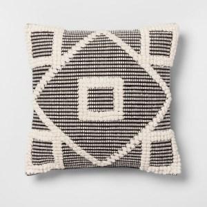 Opalhouse black diamond pillow