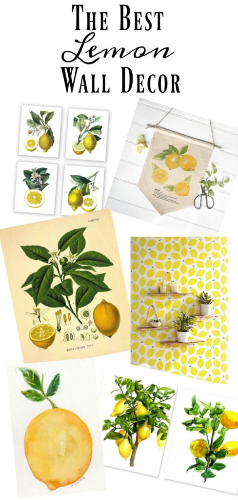 I have searched out the best lemon decor to decorate your home with this summer. From greenery, to pillows, to prints, to all the lemon accessories, you will find the best of all things lemon.