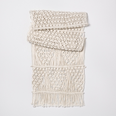 Opalhouse macrame table runner