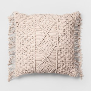 Opalhouse macrame pillow