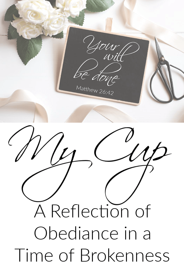 I am sharing my heart during a time of brokenness in my life in hopes to give others faith and hope in a God who is greater than any circumstance.