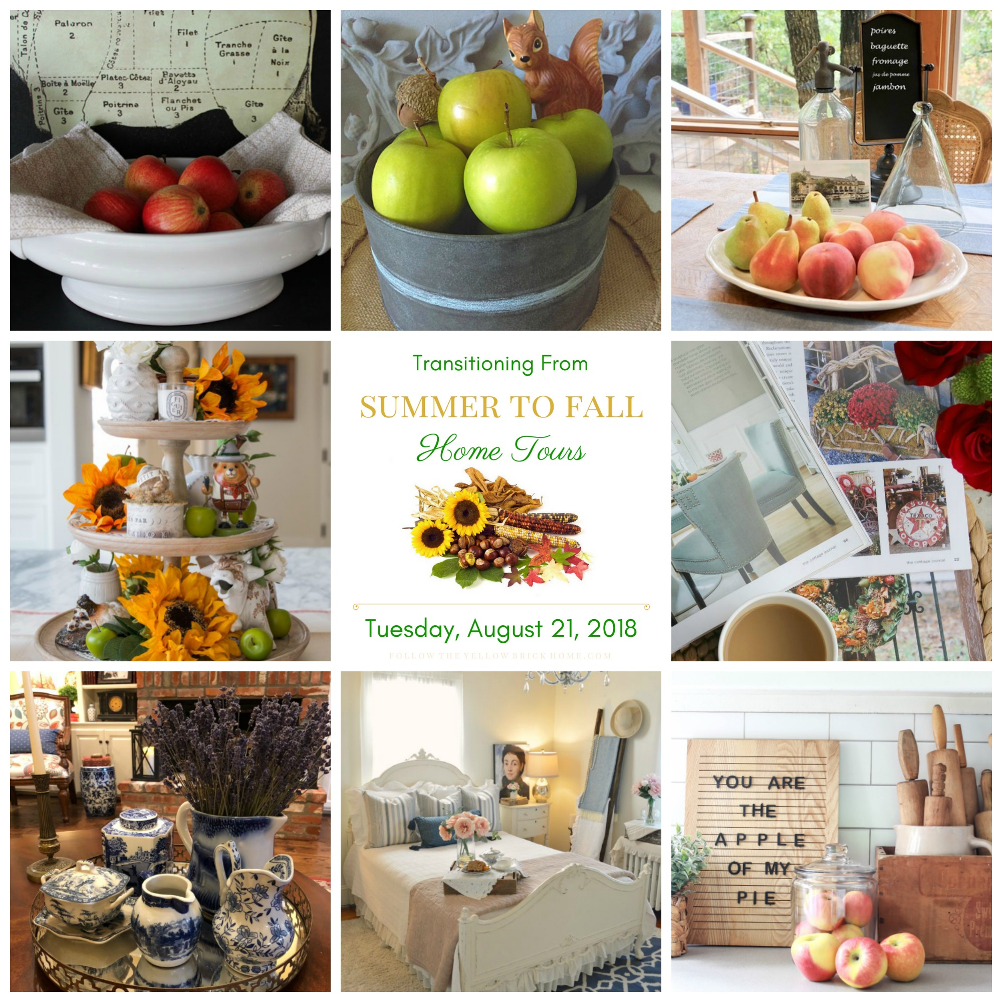 Transition your home from summer to fall decor with these 5 easy steps. These are easy and affordable ways to incorporate fall into your home.