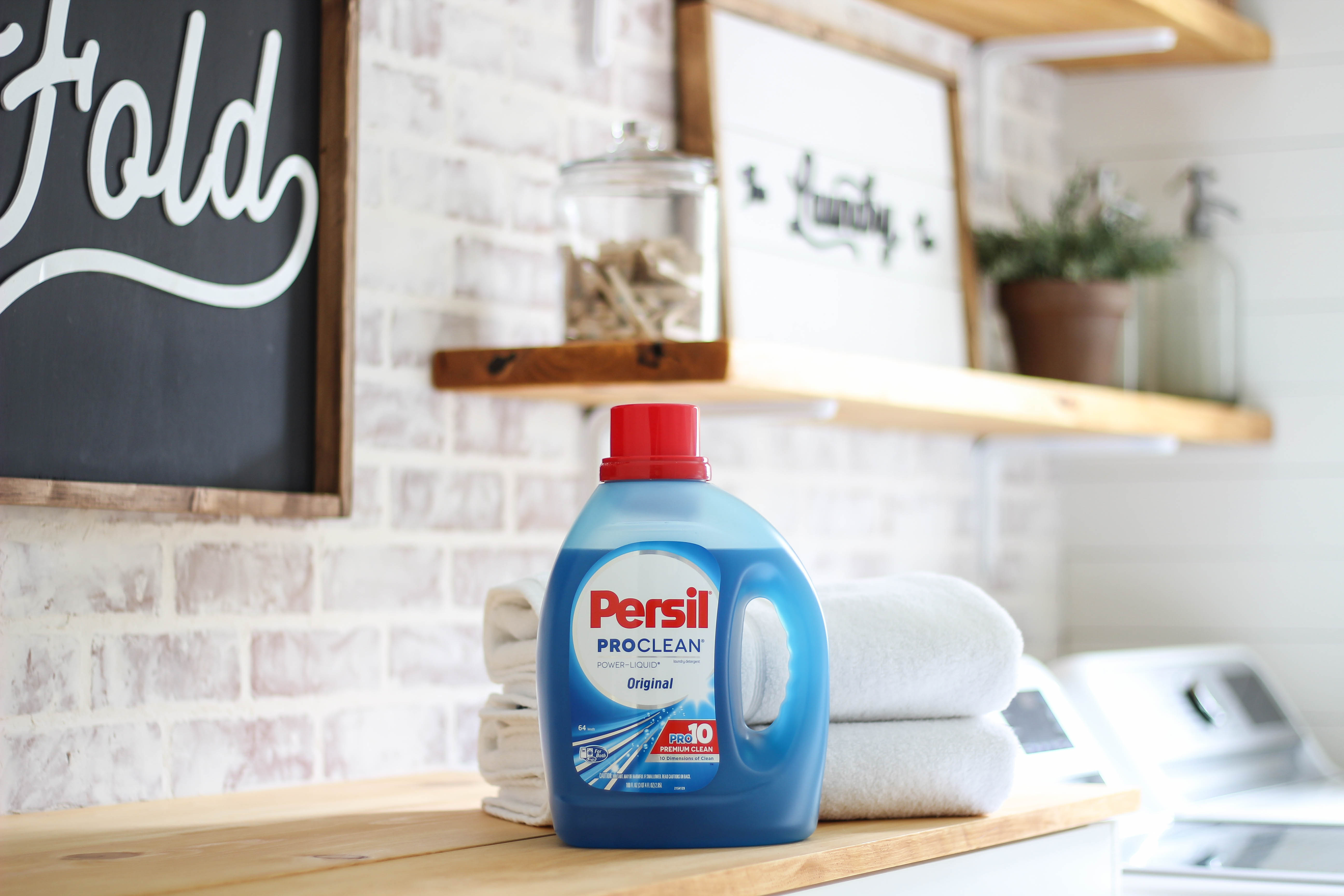 Learn why this mom of 3 never has to do a load of laundry. Plus get 6 laundry hacks to keep your towels bright white & smelling fresh. #shop #PersilLaundry