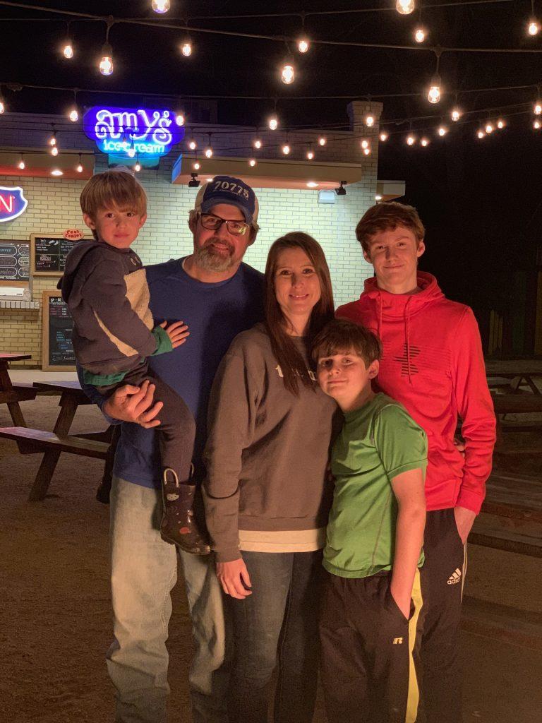 Amy's Ice Cream Shop in Smithville, Texas