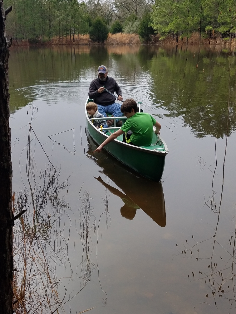 Canoe trip in LaGrange, Texas