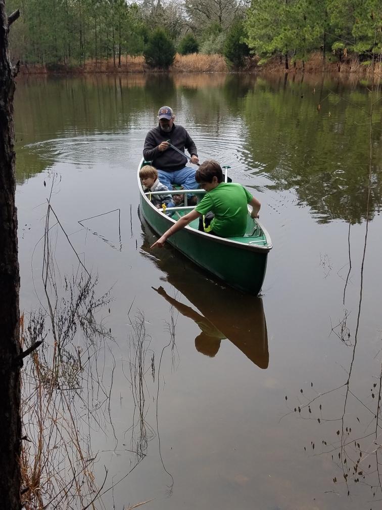 Canoe trip in LaGrange, Texas
