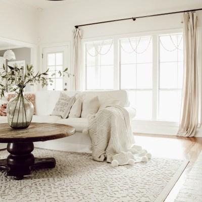 Spring Living Room Refresh