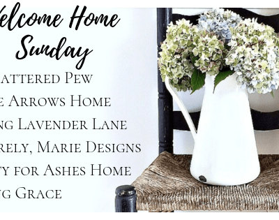 Welcome Home Sunday: A Random Collection