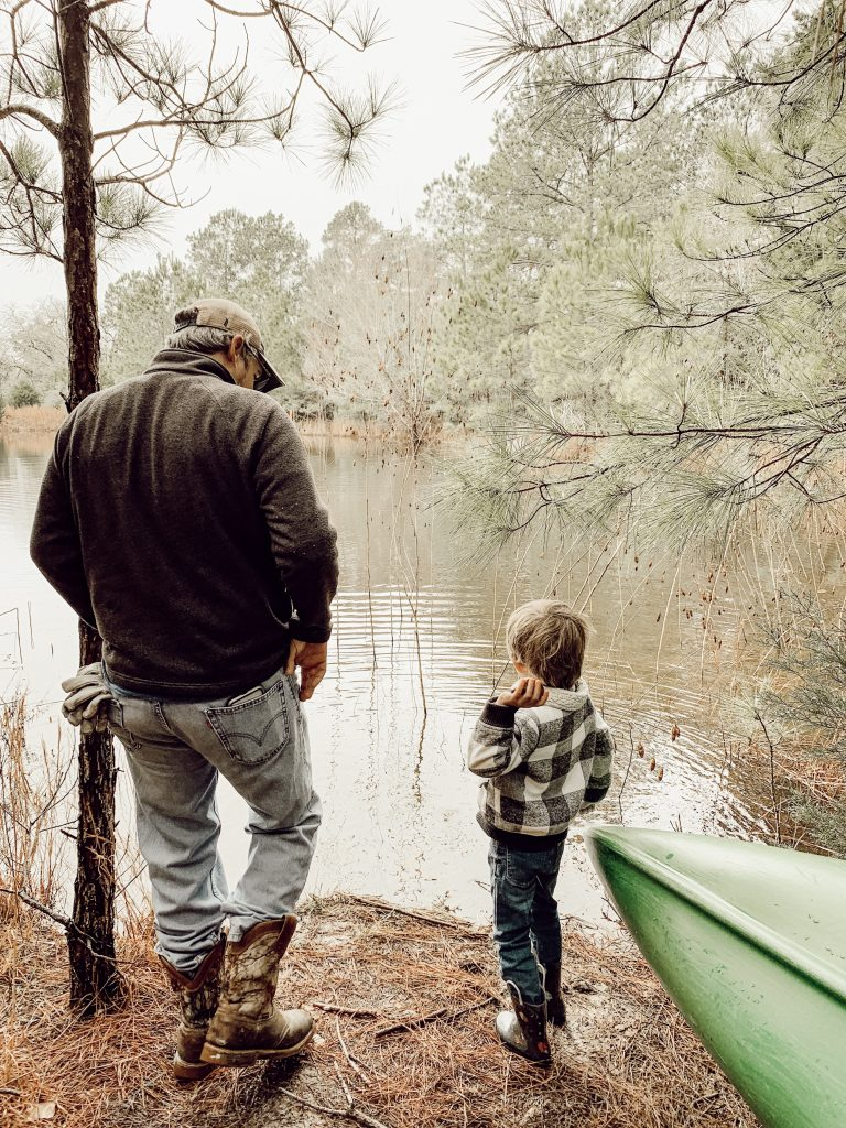 Father and son throwing rocks. Why I decided to let my 5 year old drop out of pre-k to be homeschooled by his dad. And what it has taught me in the process.