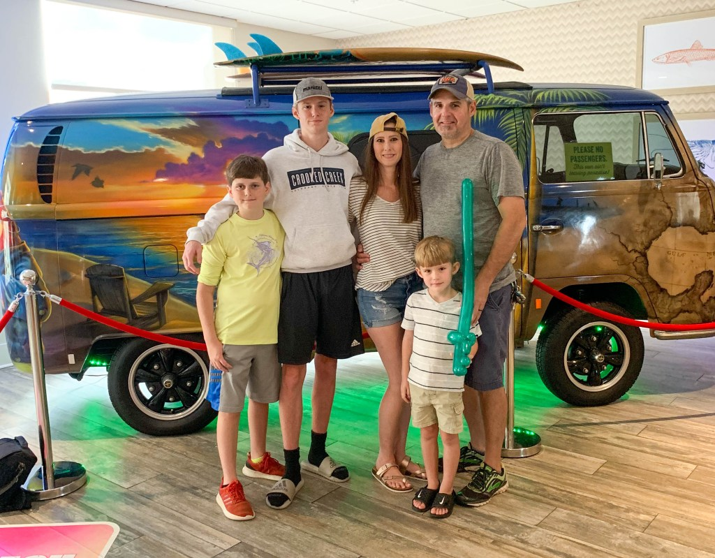 family vacation at Margaritaville Biloxi