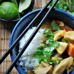 Thai Green Curry Chicken and Sweet Potatoes