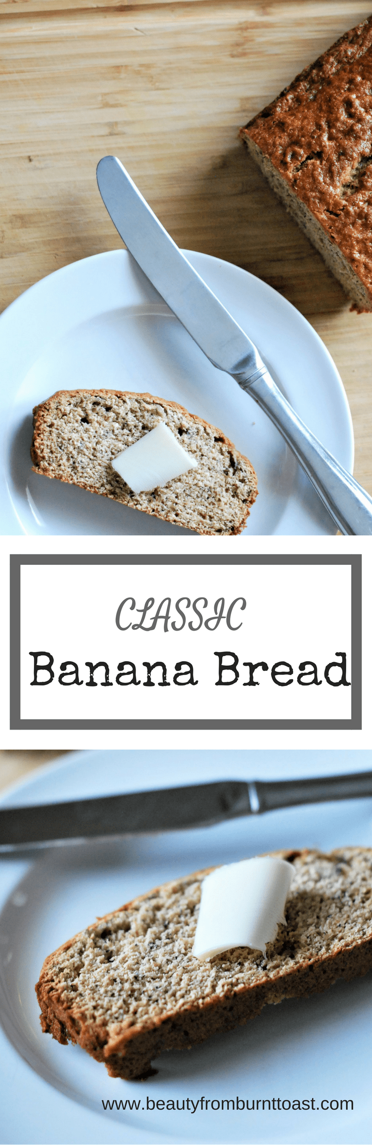 Everyone loves banana bread. This simple recipe can be made thrown together in 1 minutes, using one bowl and the result is a delicious, healthy and moist banana bread that your whole family will love. Healthy additions of coconut oil and whole wheat flour make this a healthy adaptation of a classic that you can feel good about serving!