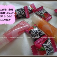 REVIEW: Maybelline fruity jelly lip gloss – Treat me Sweet & Mad about Melon.