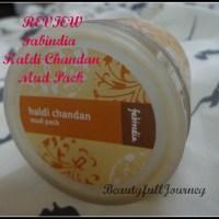 REVIEW: Fabindia Haldi Chandan Mud Pack.